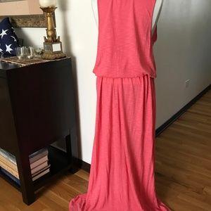 Faded Glory Dresses - Drawstring Waist Maxi Dress